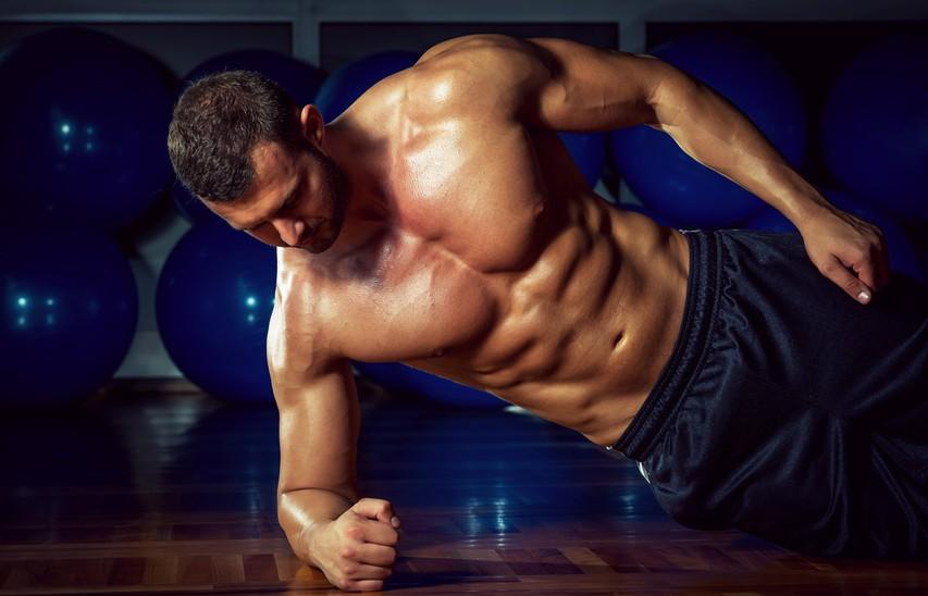Krepitev trebušnih mišic brez enega samega giba
