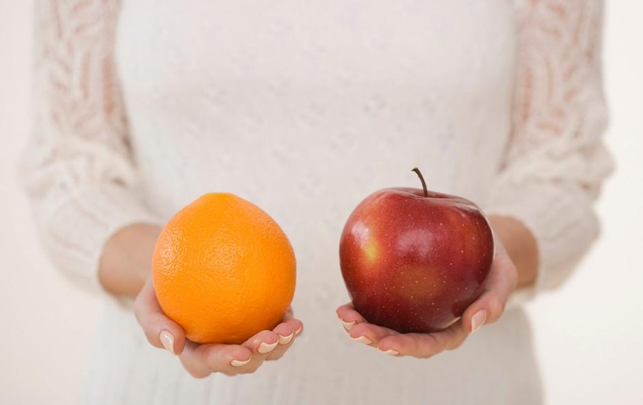 Primerjali smo katera živila so bolj zdrava (foto: profimedia)