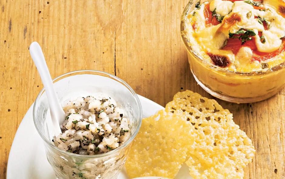 Paradižnikov narastek z mocarelo (foto: stockfood photo)