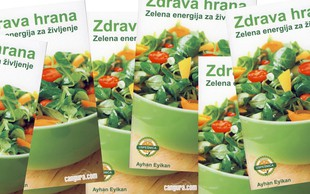 Nagradna igra: Podarjamo knjigo Zdrava hrana – Zelena energija za življenje