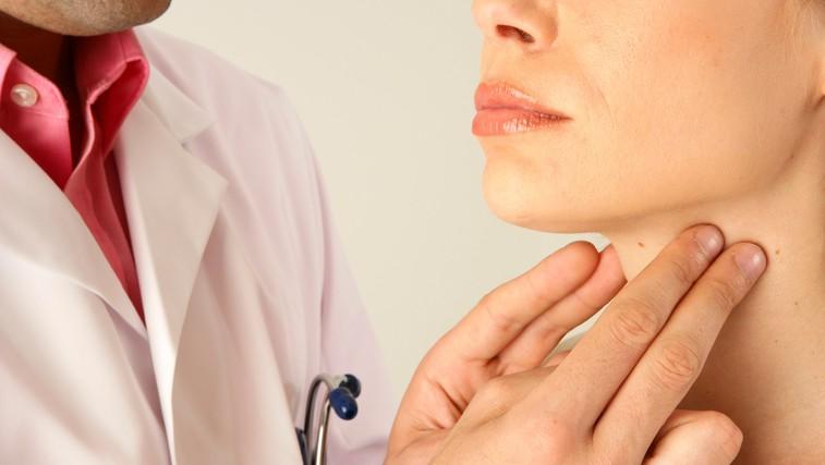 Ščitnica - žleza, ki vpliva na skoraj vse organe in pospešuje presnovo (foto: Profimedia)