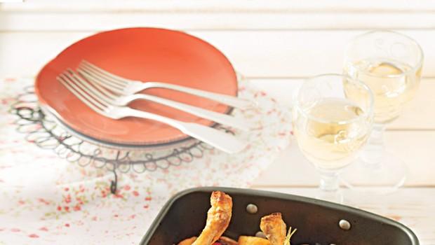 Piščanec v pečici po mediteransko (foto: stockfood photo)