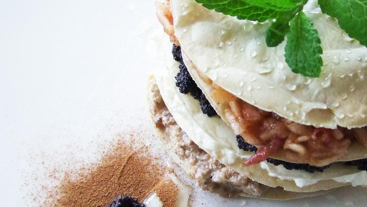 V restavraciji LeBatat ponudijo tudi zdravo medžimursko gibanico. (foto: LifeClass Terme Sveti Martin)
