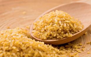 Bulgur odlično nadomesti riž in testenine
