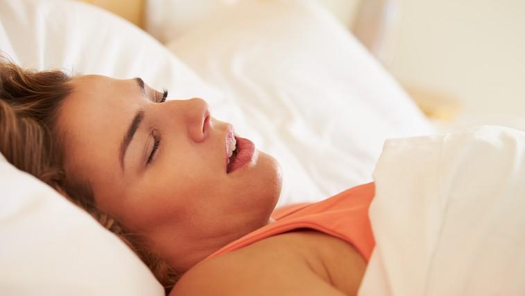 Kaj je sindrom nočne apneje (foto: Shutterstock.com)