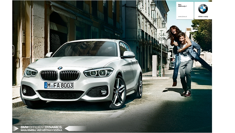 Spoznaj novi BMW serije 1 in osvoji razkošne NAGRADE (foto: BMW)