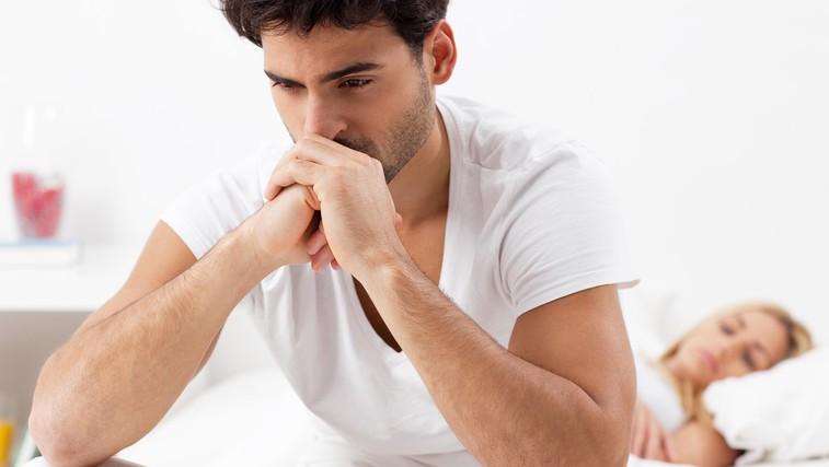 Najpogostejši vzrok za težave v spalnici (foto: Shutterstock.com)