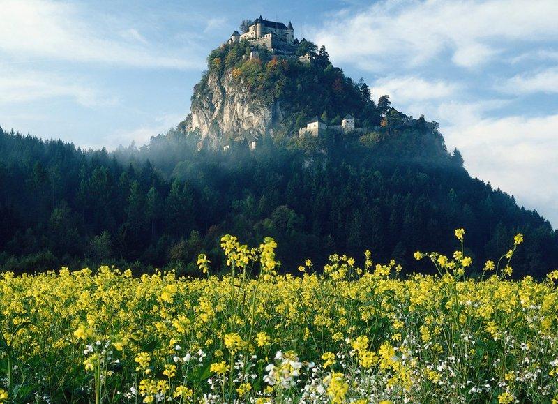 Grad Ostrovica, Burg hochosterwitz, Austria