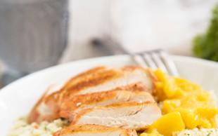 Limonov piščanec s kuskusom