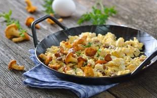 Umešana jajca na štiri načine