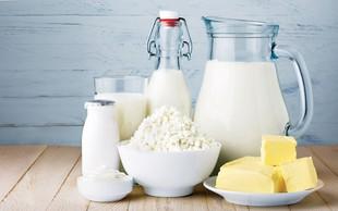 Intoleranca na laktozo: Kako nadomestite mleko, smetano in skuto?