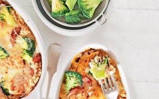 Kuskusov narastek z brokolijem