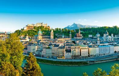 Salzburg - mesto z izredno bogato kulturno zgodovino