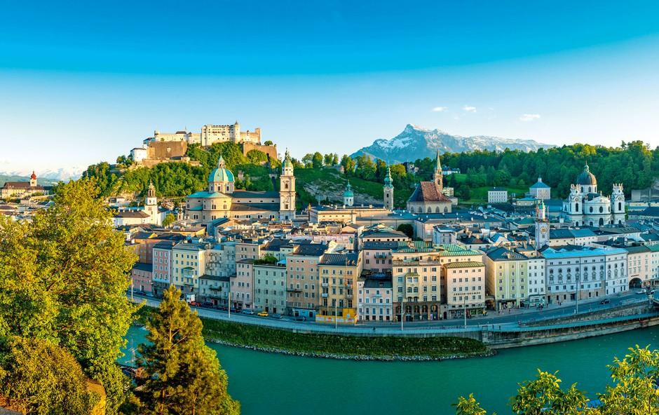 Salzburg - mesto z izredno bogato kulturno zgodovino (foto: arhiv)