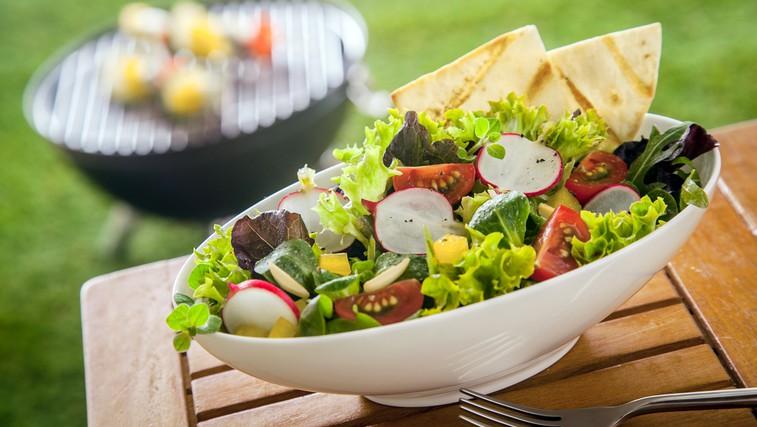 Poletne solate – tako slastne in zdrave (foto: Shutterstock.com)