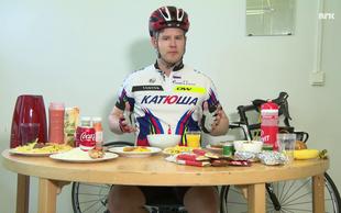 Novinar poskuša v enem obroku zaužiti 8.290 kalorij - tako imenovano dieto Tour de France šampionov