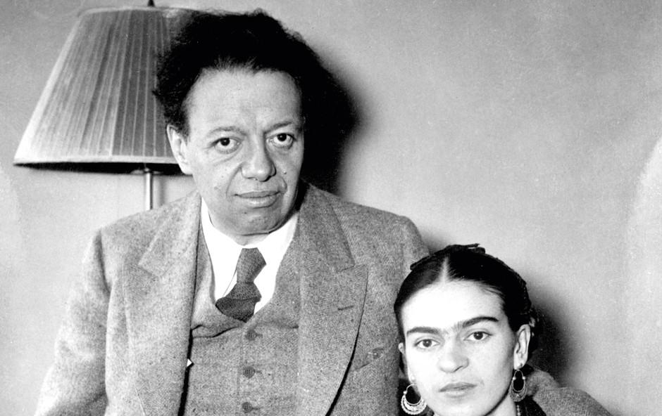 """""""Bolj sem ljubil žensko, bolj sem jo želel prizadeti. Frida je bila samo najbolj očitna žrtev te gnusne navade,"""" je priznal Rivera. (foto: profimedia)"""