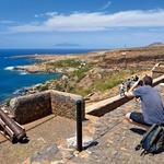 Stara vojaška opazovalnica na otoku Santiago. (foto: profimedia)
