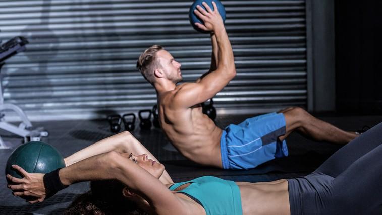 Video: 10-minutni trening za trebušne mišice (foto: Shutterstock.com)