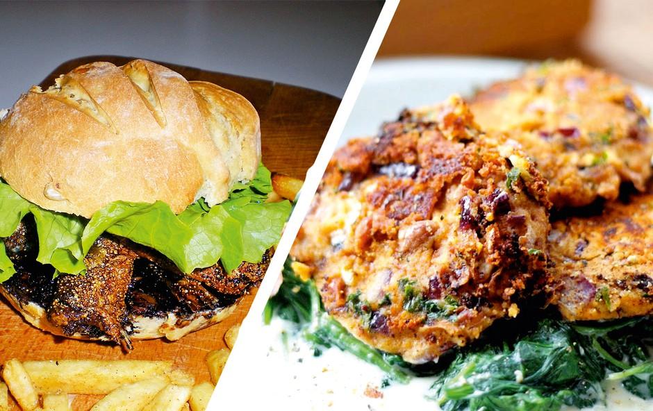 Recept: Burger v drugačni različici (foto: Osebni arhiv)