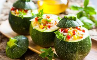 Polnjena zelenjava - pisana in slastna