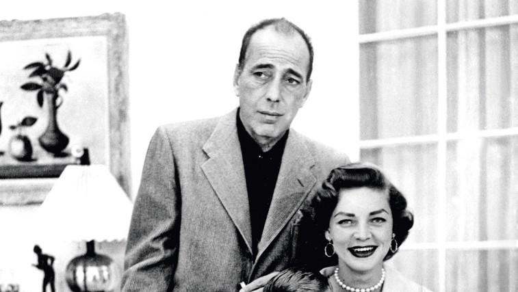 Ljubezenska zgodba: Lauren Bacall in Humphrey Bogart (foto: profimedia)