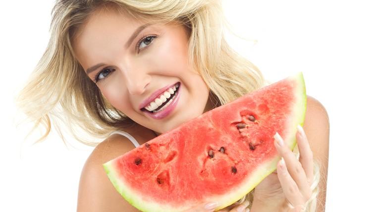 Lubenica in melona za sijočo kožo (foto: Shutterstock.com)