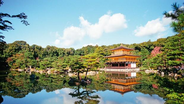Kinkaku (Zlati pavilijon) - najspokojnejši in najintimnejši kraj Japonske (foto: profimedia)