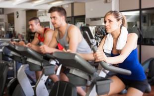 Ali lahko povečamo mišično maso le z vadbo na sobnem kolesu