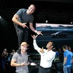 Spektakularna predpremiera novega Audija A4 (foto: mediaspeed)
