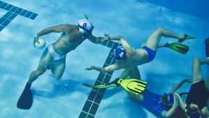 Ragbi - pod vodo