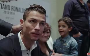 VIDEO: Prihaja film o zakulisju življenja Cristiana Ronalda
