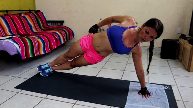 VIDEO: 20-minutni visoko intenzivni intervalni trening za aktivacijo celega telesa (foto: Maja Kvas Youtube)