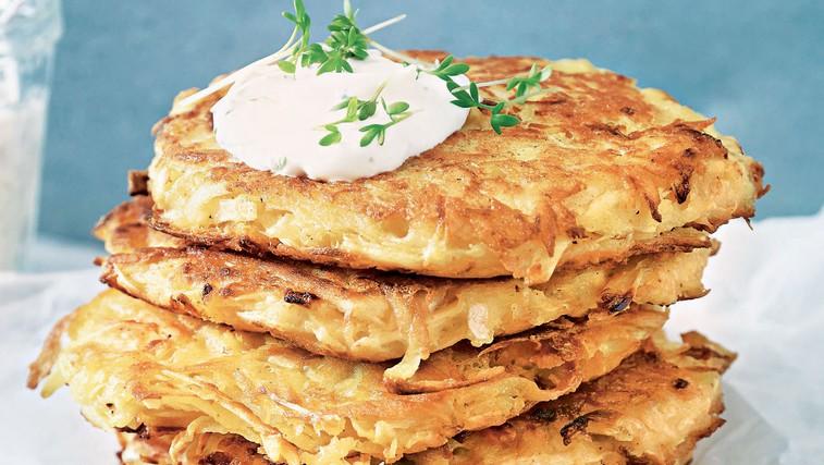 Okusen in preprost recept za krompirjeve palačinke (foto: stockfood photo)