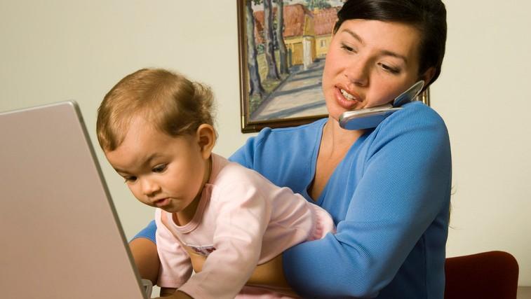 8 stvari, ki jih nikoli ne smete reči zaposleni mami (foto: Profimedia)