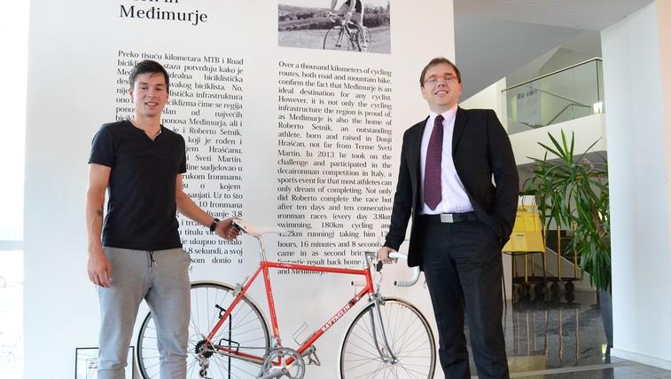 Športni dan kolesarja Primoža Rogliča v Medžimurju (foto: LifeClass Terme Sveti Martin)