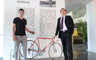Športni dan kolesarja Primoža Rogliča v Medžimurju