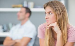 Izmolčevanje - situacija, ki probleme v partnerstvu le poglobi