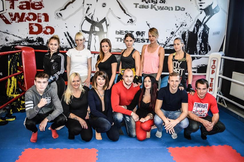 Miss borilnih veščin 2015 - z Dejanom Zavcem in Klemnom Bunderlo