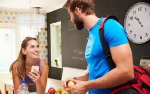 10 korakov, kako svojo boljšo polovico pripravite na skupen trening
