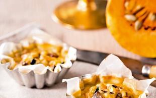 Vegetarijansko: Bučne mini pite
