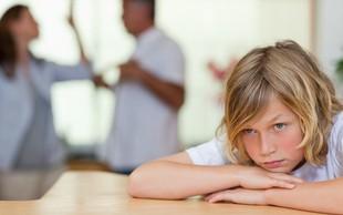 Kako pomembni so stiki otrok po ločitvi staršev