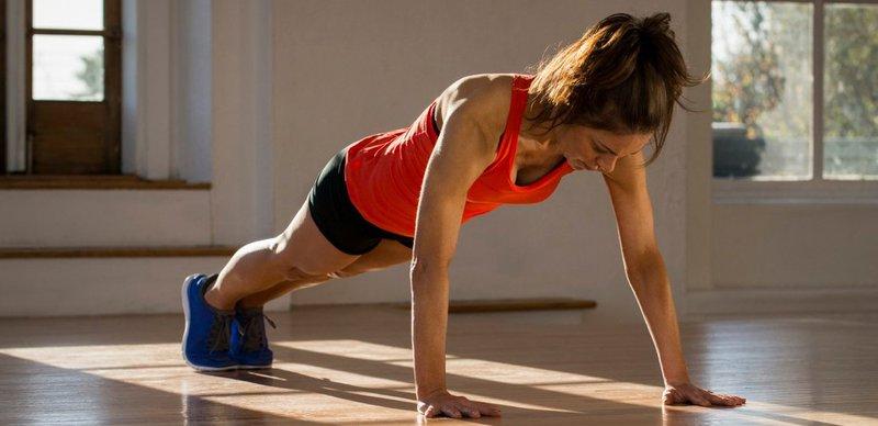 Plank vaja za trebušne mišice