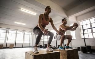 5 najboljših vaj z lastno telesno težo
