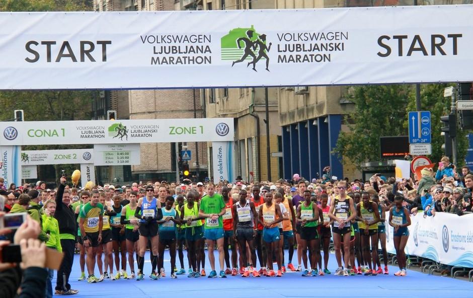 Ljubljanski maraton je pred vrati - odmislite dejstvo, da ste na tekmi (foto: Profimedia)