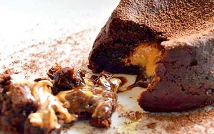 RECEPT: Lava tortica brez greha