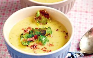 RECEPT: Odlična juha iz brstičnega ohrovta