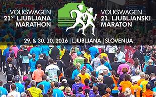 Prijave na Volkswagen 21. Ljubljanski maraton so odprte!