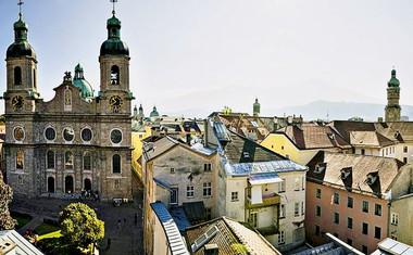 Innsbruck − prestolnica Alp