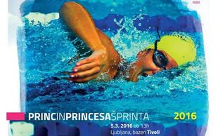 Princ in princesa šprinta 2016: Pridite in se pomerite v plavalnem tekmovanju!